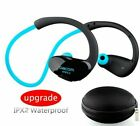Bluetooth Headset Sports Running Wireless Headphone IPX7 Waterproof Neckband