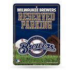 Milwaukee Brewers Reserved Parking Sign on Ebay