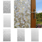 Privacy Frosted Home Bedroom Bathroom Door Window Sticker Glass Film Wate QNF