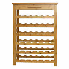 Bamboo 12 -36 Bottle Wine Rack Wine Holder Bottle Rack Bar Display Shelf Stand