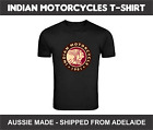 Indian Motorcycles Vintage Bike Classic Motor Triumph Racer T-Shirt Aussie Ma $19.99 AUD on eBay