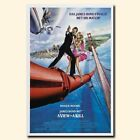 A View to a Kill 12x18 24x36inch 007 James Bond Movie Silk Poster Wall Decals $9.31 CAD on eBay