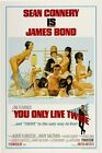 "You Only Live Twice (1967) Movie Silk Fabric Poster 11""x17"" 24""x36""  007 $11.33 CAD on eBay"