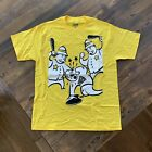 Rare Vintage Foosh Mens 'Beat Down' T-Shirt 2007 - Yellow New Authentic Was $40 image