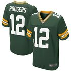 NFL GREEN BAY PACKERS AUTHENTIC FOOTBALL JERSEY AARON RODGERS #12 NIKE ELITE 44