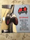 GUANA BATZ GET AROUND LP ORIGINAL VINYL  PSYCHOBILLY RARE NR MINT UK 1994