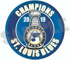 St. Louis Blues 2019 NHL Stanley Cup Champions Decal / Sticker $3.39 USD on eBay