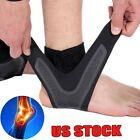 Adjustable Sports Elastic Ankle Brace Support Basketball Protector Foot Wrap US $10.99 USD on eBay