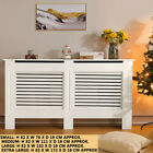 Modern Radiator Cover White Painted Wall Cabinet-MDF Wood Heating Cover S/M/L/XL