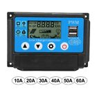 le_ji84 Auto Solar Charge Controller Auto Work PWM with 5V LCD Dual USB