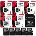 Kingston Micro SD Karte Canvas Select Speicherkarte Class 10 SDHC SDXC 16- 256GB
