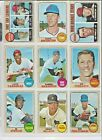 1968 Topps EX+/EX-NM+ Nice Sharp Cards ! Pick From List Complete Your Set! on Ebay