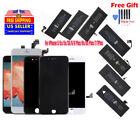 LCD Screen Digitizer Assembly & Battery Replacement For iPhone 5 5s 6 6S 7 8 lot