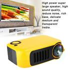 25-70''12V Mini Portable Projector HD Resolution Home Video Player for Children