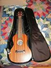 BONDI CONCERT UKULELE w/ Gig Bag Model # SU-024B New Made In Australia