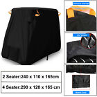 Waterproof 2/4 Passenger Golf Cart Cover Fits EZ Go/Club Car/Yamaha Dustproof