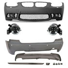 Set Bumper Front+Rear + Fog for BMW 3 Series E92 E93 Build Year 06-09 Sport II