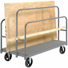 "Panel, Sheet & Lumber Truck with Carpeted Deck, 2400 Lb. Capacity, 60""L x 30""W,"