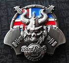 Hard Rock Cafe Pin Reykjavik Icelan 3D Viking Skull Flag shield 2016 Sold Out !