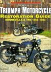 Triumph Motorcycle Restoration Guide: Bonneville & Tr6 1956- $64.62 CAD on eBay