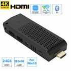Mini PC Computer TV Stick 4K X5-Z8350 For Win10 Dual Band Quad-core WiFi BT4.0