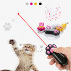 Interactive led Training Funny Cat Play Toy Laser Pointer Pen Cat Paw Shaped Hot