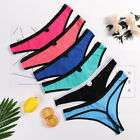 7Pcs Women's Cotton Underwear G-string Thongs Panties T-back Bikini Multi-Color