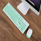 New N520 Hand Punk Mechanical Wireless Keyboard Mouse Set with USB Receiver