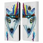 OFFICIAL PIXIE COLD ANIMALS LEATHER BOOK WALLET CASE FOR MOTOROLA PHONES