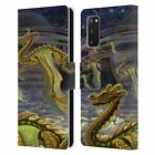 OFFICIAL MYLES PINKNEY FANTASY LEATHER BOOK CASE FOR SAMSUNG PHONES 1