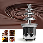 3/4 Tiers Chocolate Fountain Machine Fondue Home Party Large Set Stainless Steel