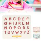 Magnetic Alphabet Letter Tracing Board with Stylus Pen Children Educational Toy