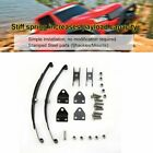 1/10 Leaf Springs Set Highlift Chassis For 1/10 F350 D90 Rc Crawler Car Parts A