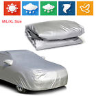 M-XL Full Car Cover Outdoor Protector Anti Scratch Dust Sun Resistant For Sedan on eBay