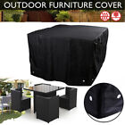 Garden Patio Furniture Cover Waterproof 600d Oxford Outdoor Rattan Table Cover
