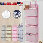 4 Pockets Wall Door Closet Home Hanging Storage Bag Organizer Pouch Home Useful