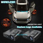 Wireless LED Car Door DOOM PC Logo Projector Courtesy Welcome Ghost Shadow Light