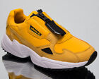 adidas Originals Falcon Zip Womens Active Gold Casual Lifestyle Sneakers EE5113