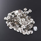 50PC Magnetic Buckle Round Metal Button for Clothes Making Purses Crafts Handbag