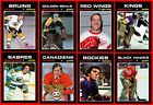 RETRO 1970s High Grade NHL Hockey Card Style PHOTO CARDS U-Pick + Bonus Offer! $0.99 CAD on eBay