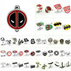 Fashion Men's Super Hero Movie Cufflinks Shirt Wedding Party Silver Gifts $4.59 USD on eBay