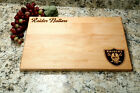 "Oakland Raiders Cutting Board! 9""x12"" or 10.5""x16"" Free Shipping!! $32.0 USD on eBay"