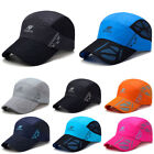 Unisex Men Women Golf Sports Sunscreen Mesh Baseball Cap Embroidered Hip-Hop Hat