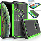 Shockproof Heavy Duty Bumper Hard Case Cover For Apple iPhone 6 7 8 XS 11 12 13