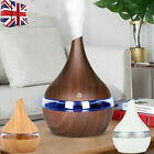 Led 7 Colour Ultrasonic Aroma Essential Oil Diffuser Air Purifier Humidifier Uk