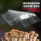 25*50cm Clear PVC Home Mushroom Spawn Grow Bags Substrate High Temp Pre Sealable