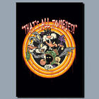 Thats all Zombies Game Movie Metal poster, Canvas, Sign, Plaque poster, WALL ART