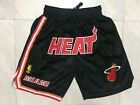 NWT Stitched Miami Heat NBA Basketball Shorts Men's Pants on eBay