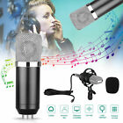 Professional Condenser Microphone Broadcasting Studio Recording Mic+Shock Mount