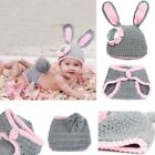 Newborn Baby Kids Crochet Knitted Costume Photo Photography Props Hats Outfits